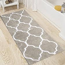 Bathroom Runner Rug Pauwer Microfiber Bath Rugs Non Slip Bath Rug Runner