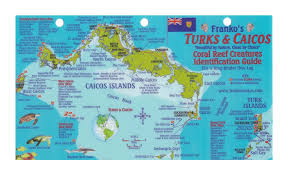 Map Of Coral Reefs Large Travel Map Of Turks And Caicos Islands Turks And Caicos