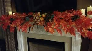 fall garland for mantle a southern blossom wild and wispy fall