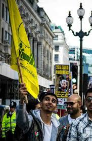 Hezbollah Flag Jeremy Corbyn