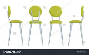 bar chairs furniture pub office cafe stock vector 490065469