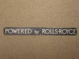 rolls royce badge rolls royce sentinel controls badges uk standard gauge
