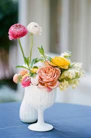 Glass Vase Centerpiece White Milk Glass Vase Centerpiece Elizabeth Anne Designs The