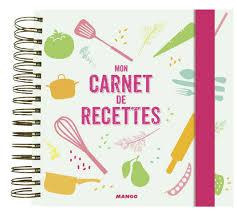 mon cahier de cuisine 123 cahier de cuisine vierge cahier de cuisine achat vente cahier