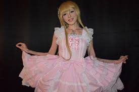 human barbie doll boyfriend this woman u0027s medical condition gradually turns her into a real