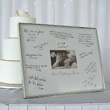 engravable wedding guest book picture framing new wedding guest picture frame to sign wedding