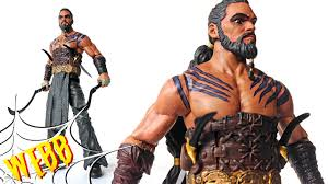 khal drogo game of thrones series 2 action figure review youtube
