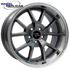 05 mustang wheels anthracite 18x10 fr500 replica mustang wheel