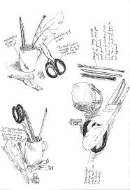 p35 u2013 project still life u2013 exercise u2013 sketches of made objects