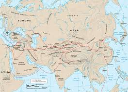 Iditarod Map Silk Road Reading Unit 4th 5th Grade Inner Asian U0026 Uralic