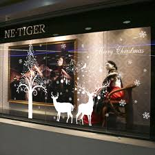 Christmas Window Decorations by Christmas Window Posters Promotion Shop For Promotional Christmas