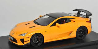 orange lexus lfa amiami character hobby shop peako resin model 1 43 lexus lfa