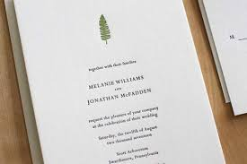 letterpress invitations letterpress wedding invitations moontree letterpress