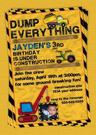 best 25 construction party invitations ideas on pinterest