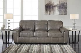 Sleeper Leather Sofa Grey Leather Sleeper Sofa 33 With Additional Home