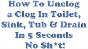 How To Unclog A Bathtub Naturally Articles With Unclog A Bathtub Drain Home Remedies Tag Impressive