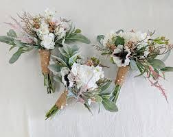 flower bouquet for wedding silk flower bouquet etsy