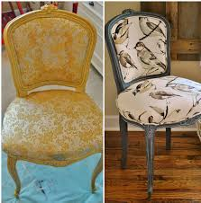 Reupholster Armchair Tutorial Sophia U0027s French Chair Reupholstery Makeover And Tutorial