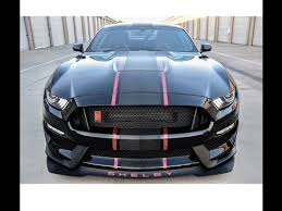 Blue Mustang Black Stripes New Shelby Gt350r With Custom Stripes Over Xpel Ultimate By