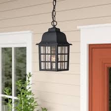 Lantern Ceiling Light Fixtures In Outdoor Hanging Light Wayfair