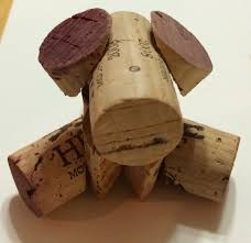 i saw a pin on pinterest of a cute cork dog but no directions i