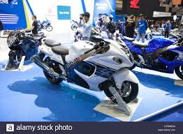 suzuki motorcycle hayabusa bangkok thailand 28th mar 2017 suzuki hayabusa motorcycle on