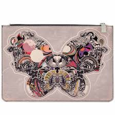colours of my luxury leather pouches designer printed
