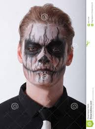 Mens Halloween Makeup Ideas Man Halloween Stock Photo Image 58471200
