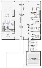 4 bedroom ranch style house plans houseplans com modern main floor plan plan 64 172 4 2 2