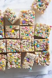 easter rice krispie treat