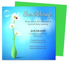 retirement announcement retirement invitation template 2223 in addition to paid