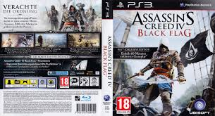 Blag Flag Assassins Creed 4 Black Flag German Ps3 Cover German Dvd Covers