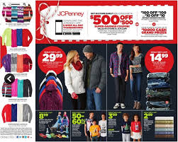 jcpenney black friday jewelry sale thanksgiving sales jcpenney releases black friday ad kfor com