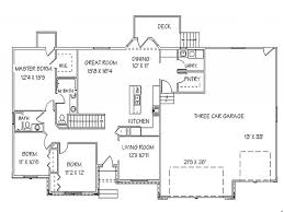 single story home floor plans 58 1 story house plans with basement one story floor plans with