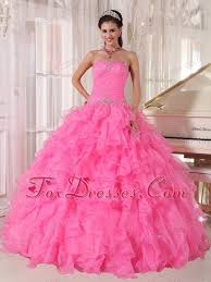 quinceanera pink dresses pink strapless beading quinceanera dress