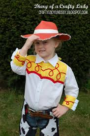 Toddler Cowgirl Halloween Costume Diary Crafty Lady Cowgirl Jessie Halloween Costume