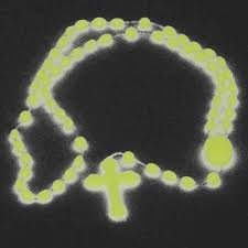 glow in the rosary 24pcs lot classic handmade glow in the religion jesus cross