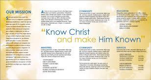 church brochure templates free csoforum info