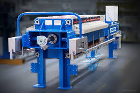 filter presses sp series the next pneumatic filter press generation