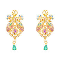 trendy gold earrings trendy gold earrings online yuva collection gold earrings for
