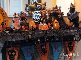 Vintage Halloween Decor Musings From Kim K Vintage Halloween Blog Party