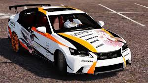 lexus gs 350 performance lexus gs 350 itasha livery gta5 mods com