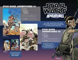 new u0027star wars adventures u0027 preview and info on authors featured at