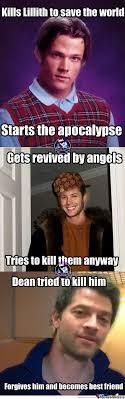 Supernatural Meme - supernatural meme center shared by rettxed on we heart it