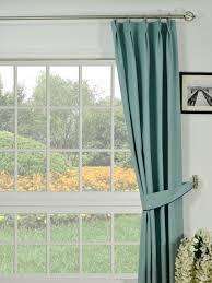 Moonbay Plain Double Pinch Pleat Cotton Curtains