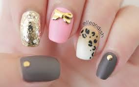 matte ombré leopard nails toothpick u0026 sponge youtube