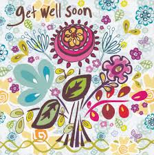 get well soon cards floral get well soon card karenza paperie