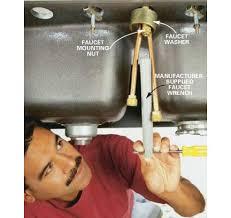 How To Fix A Moen Kitchen Faucet New Moen Kitchen Faucet Mounting Hardware Kitchen Faucet