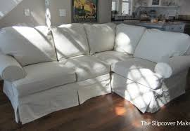 Slipcovers Sectional Couches Sofa Slipcovered Sectional Sofa Alarming Klaussner Furniture