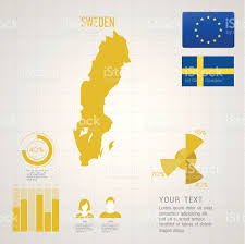 World Map Sweden by Republic Of Sweden Map Stock Vector Art 518485067 Istock